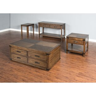 Jolicoeur 4 Piece Coffee Table Set Loon Peak