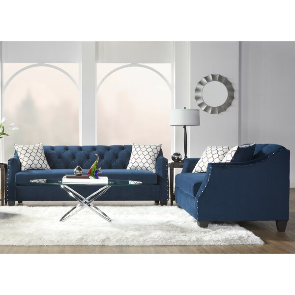 Bostick 2 Piece Living Room Set by House of Hampton