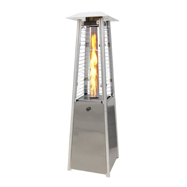 11,000 BTU Propane Tabletop Patio Heater by SUNHEAT International