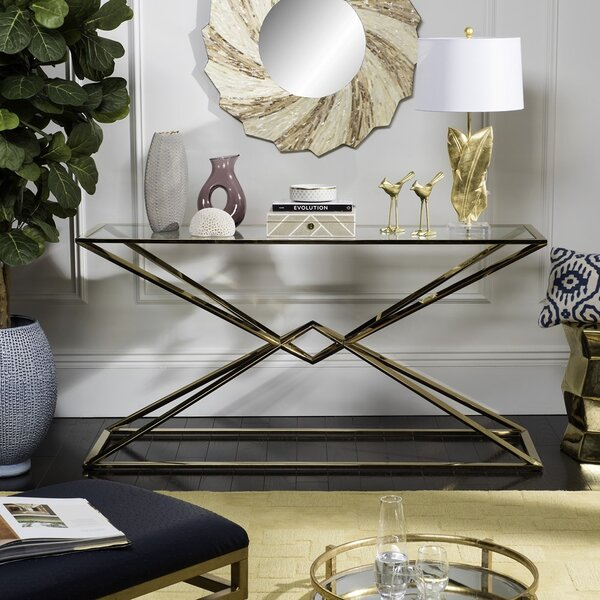 Nyle Console Table by Willa Arlo Interiors