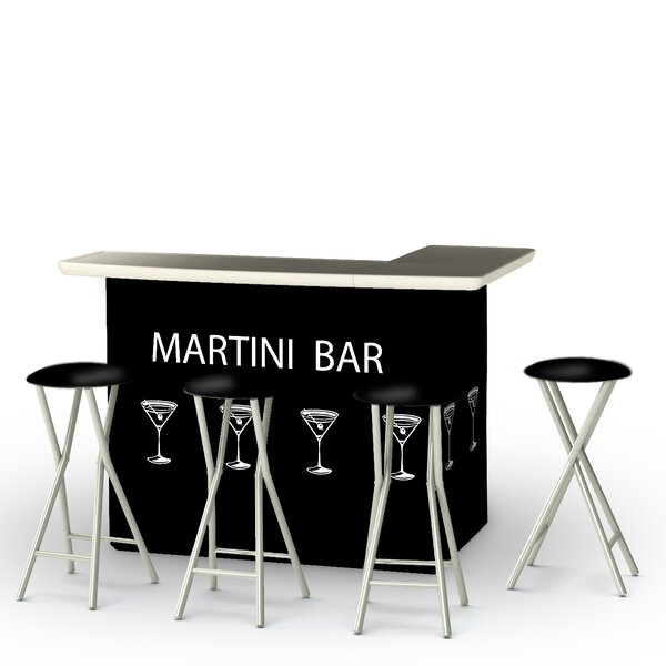 Potawatomi 5-Piece Bar Set by Winston Porter Winston Porter