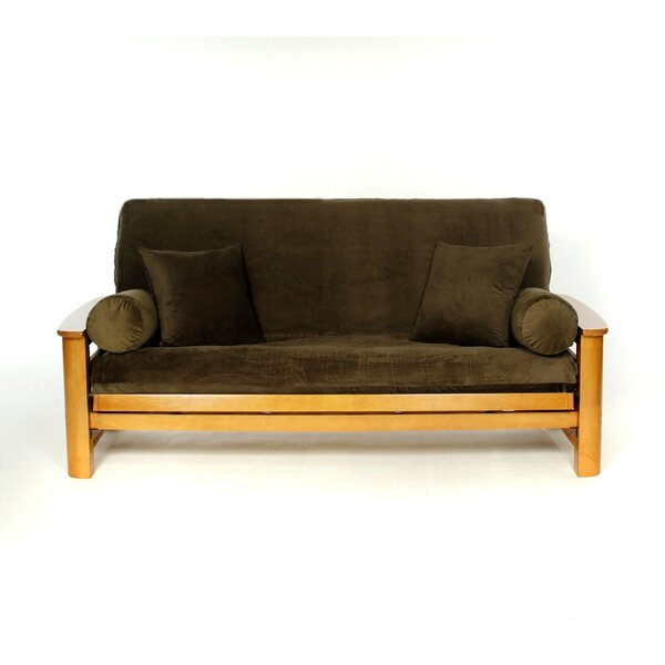 Twist Box Cushion Futon Slipcover by Lifestyle Covers