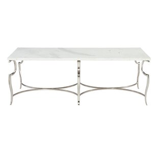 Savoy Place Metal Coffee Table Bernhardt #1