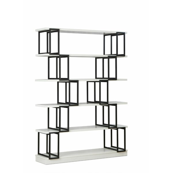 Sote Geometric Bookcase by Ebern Designs Ebern Designs