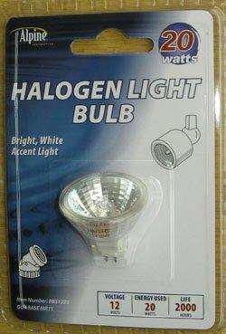 20W 12-Volt Halogen Light Bulb by Alpine