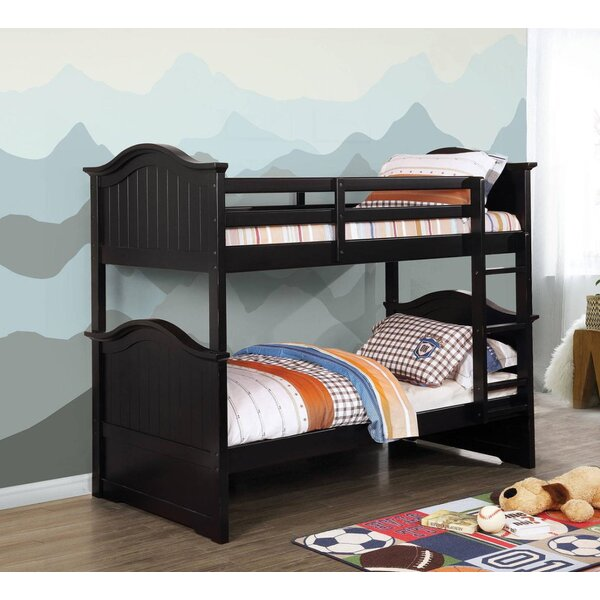 Jem Twin over Twin Bunk Bed by Harriet Bee