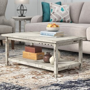 Review Mangum Coffee Table by Laurel Foundry Modern Farmhouse