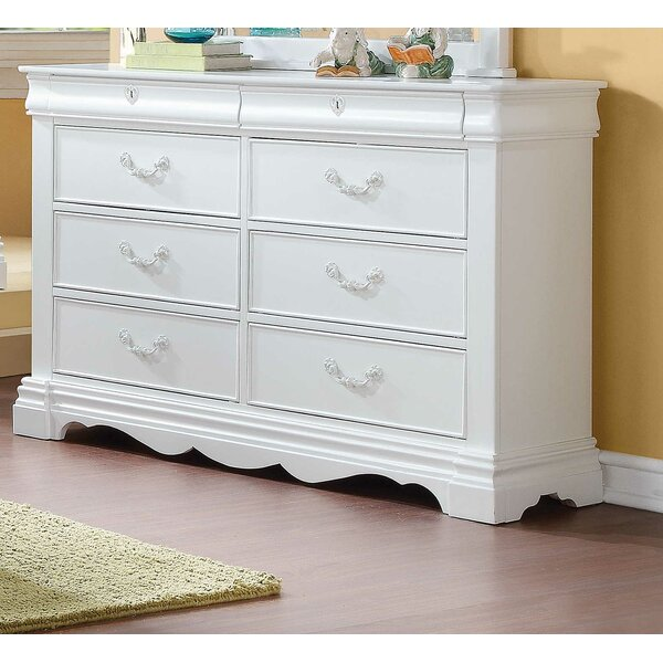 Lytham 8 Drawer Double Dresser by Canora Grey