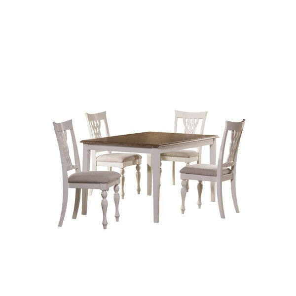 Carcassonne 5 Piece Dining Set by August Grove August Grove