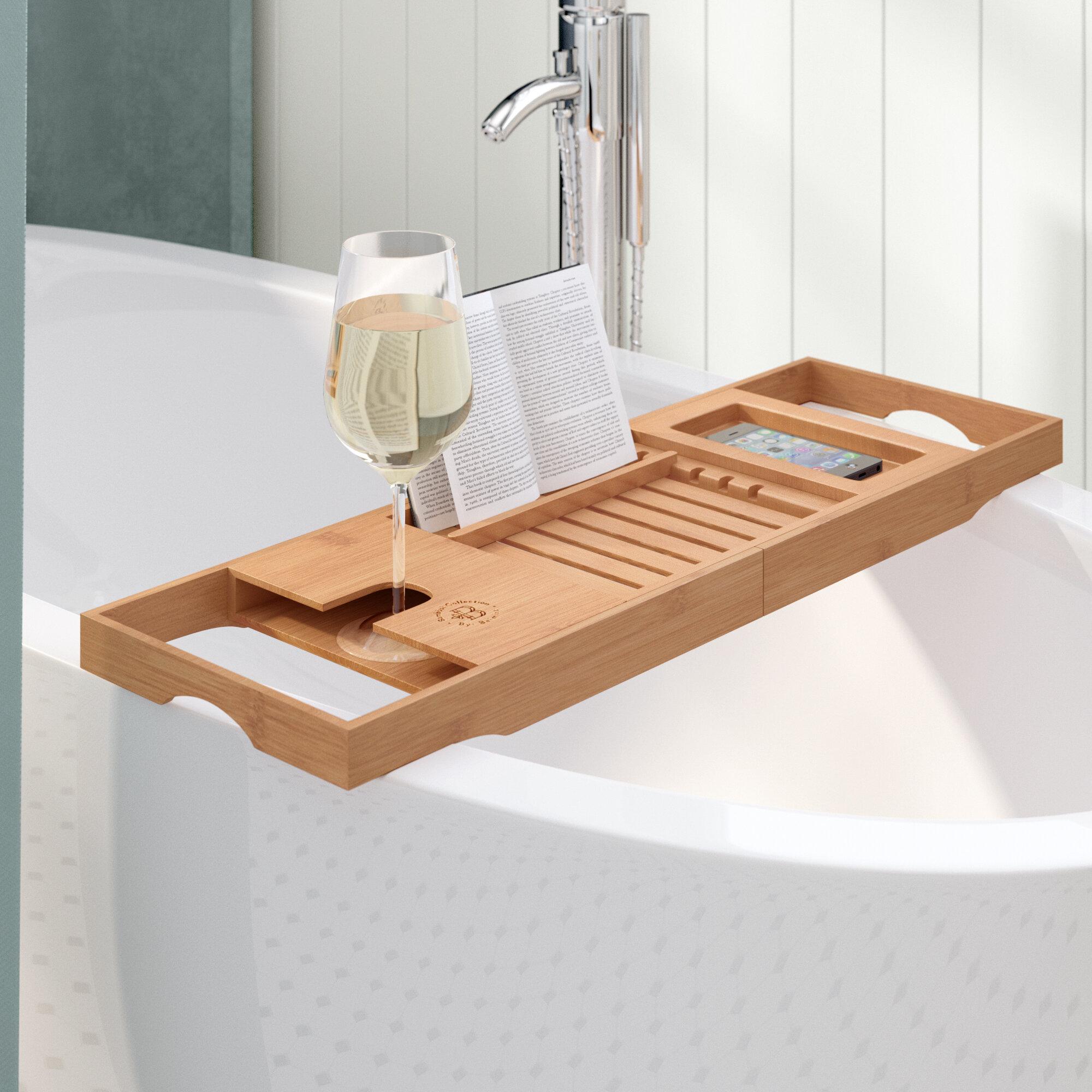 The Twillery Co. Elledge Bamboo Bath Caddy & Reviews   Wayfair