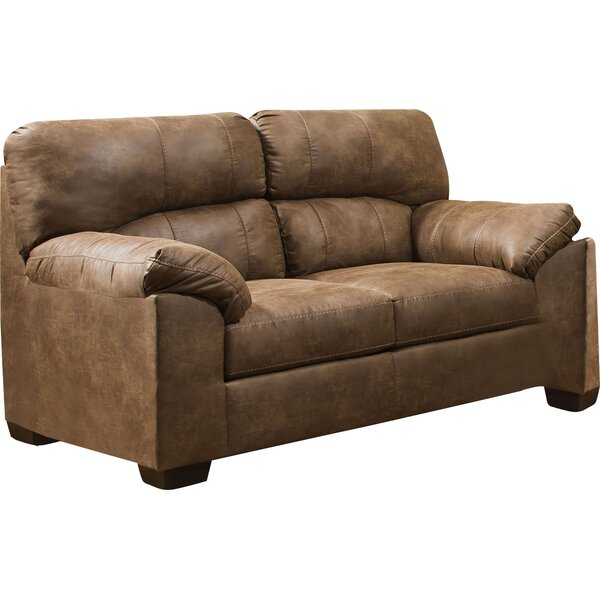 Grizzly Hill Simmons Upholstery El Capitan Loveseat by Loon Peak