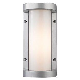Price comparison Savannah 1-Light Outdoor Sconce By Orren Ellis