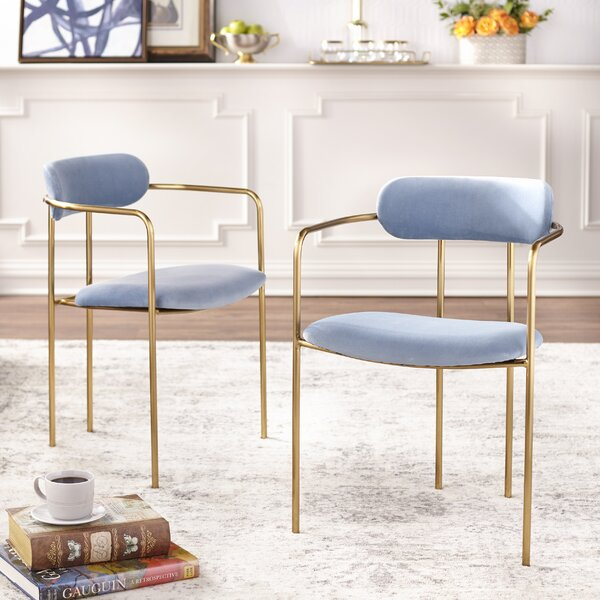 Carrigan Upholstered Dining Chair (Set of 2) by Mercer41