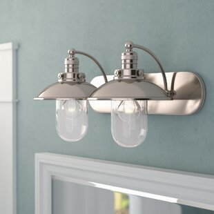 Price comparison Emory 2-Light Vanity Light By Beachcrest Home