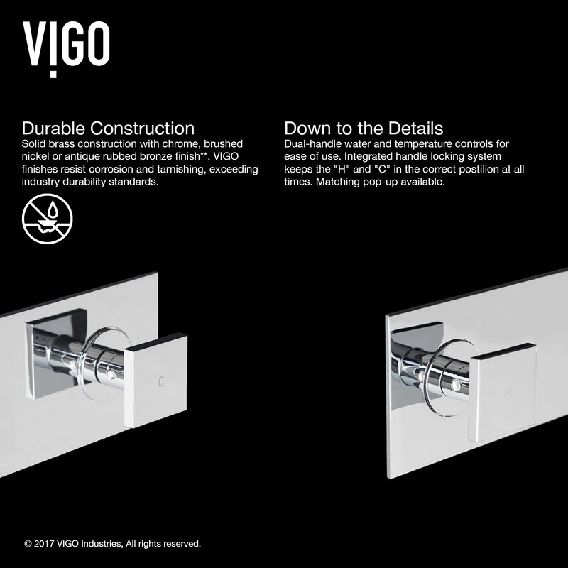 Titus Wall Mount Bathroom Faucet Amp Reviews Allmodern