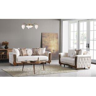 Nakasi 2 Piece Living Room Set by Rosdorf Park