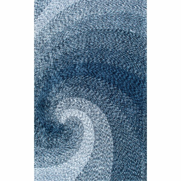 Salina Hand-Tufted Blue Area Rug by Beachcrest Home