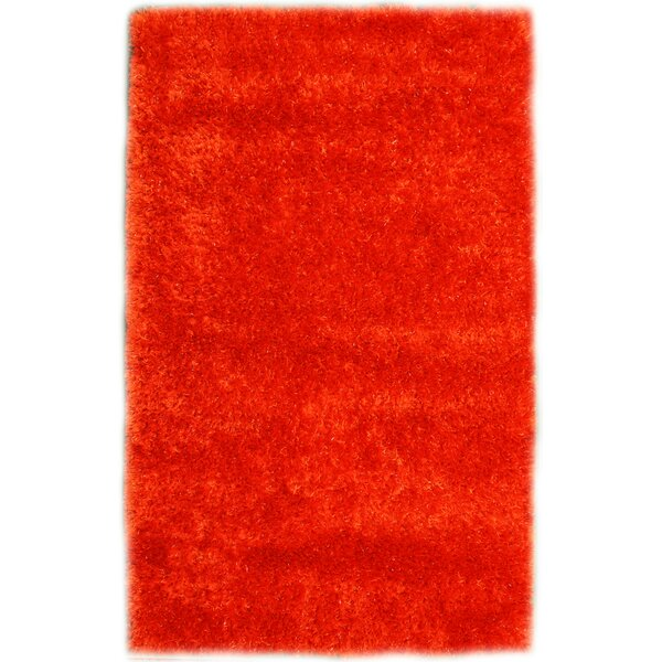 Codimuba Tangerine Area Rug by Noble House