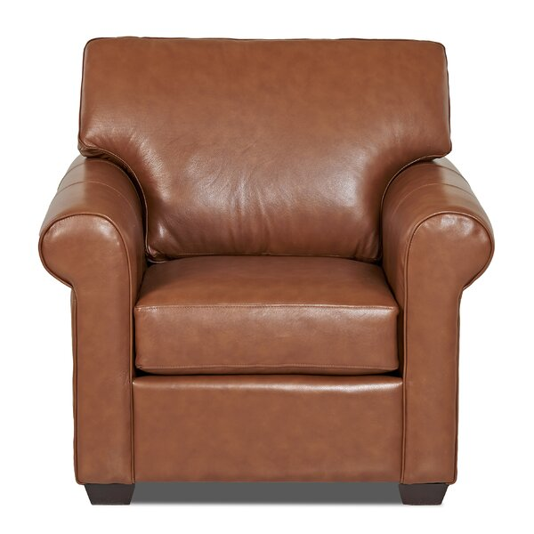 Rachel Leather Club Chair By Klaussner Furniture