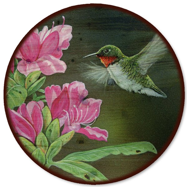 Opening Day Hummingbird Lazy Susan by WGI-GALLERY
