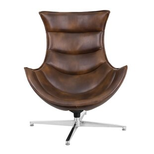 Great Price Carlin Swivel Lounge Chair By Orren Ellis