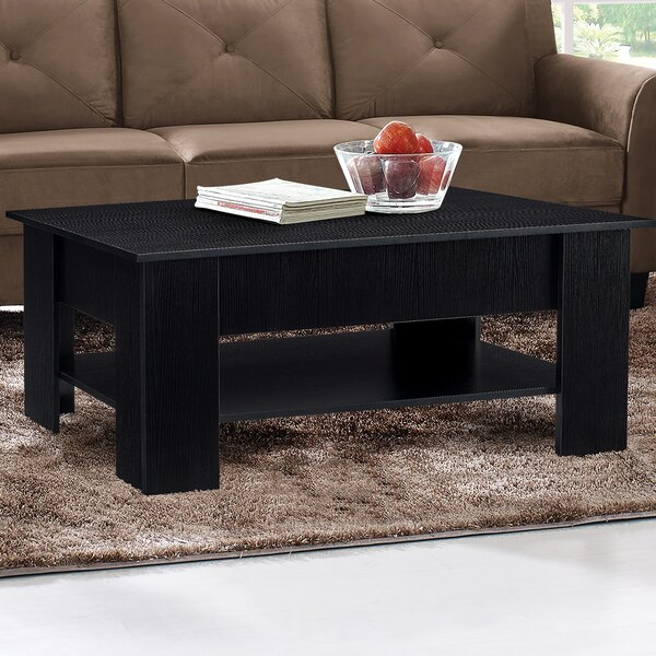 Darch Solid Wood Lift Top Coffee Table With Storage By Red Barrel Studio