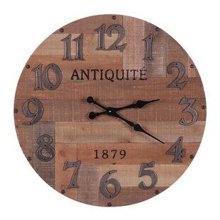 Oversizes Cathkin Rustic 76cm Wall Clock