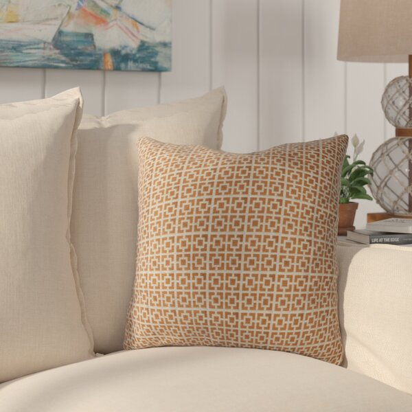 Kruger Luxury Throw Pillow by Bayou Breeze