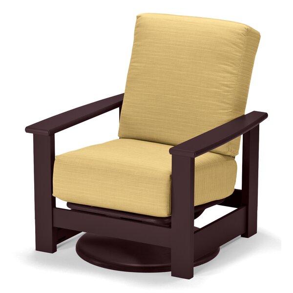 Leeward Patio Chair with Cushion by Telescope Casual