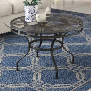 Trigg Coffee Table with Clock