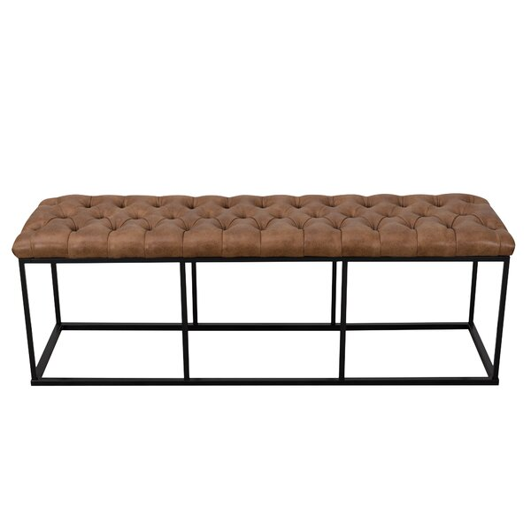 Hefley Metal Bench by Williston Forge