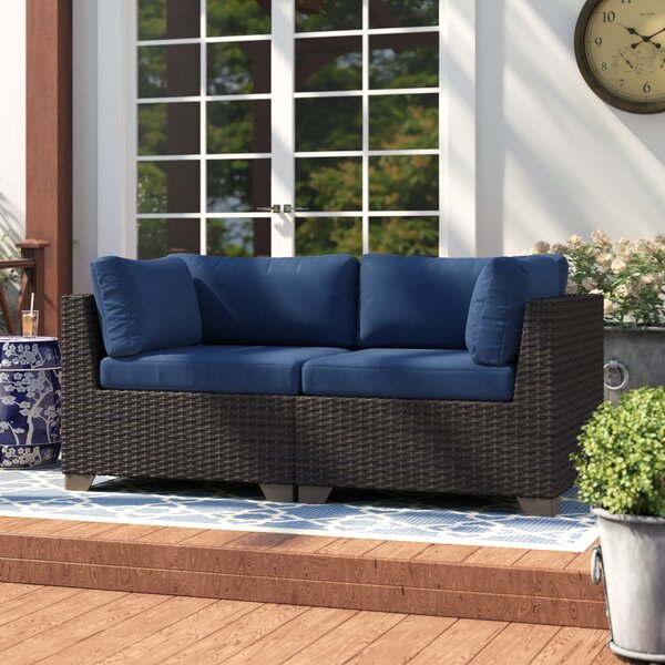 Fernando Loveseat with Cushions by Sol 72 Outdoor