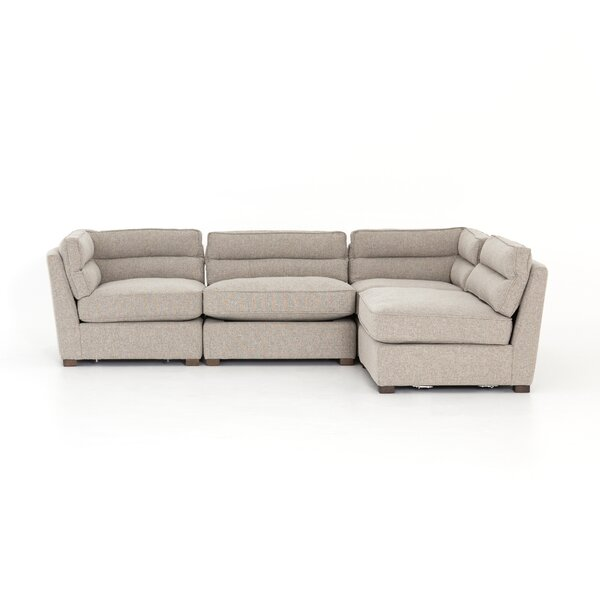 Seal 4-Piece Sectional by Wrought Studio