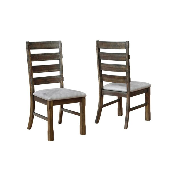 Shunk Solid Wood Dining Chair (Set of 2) by Gracie Oaks