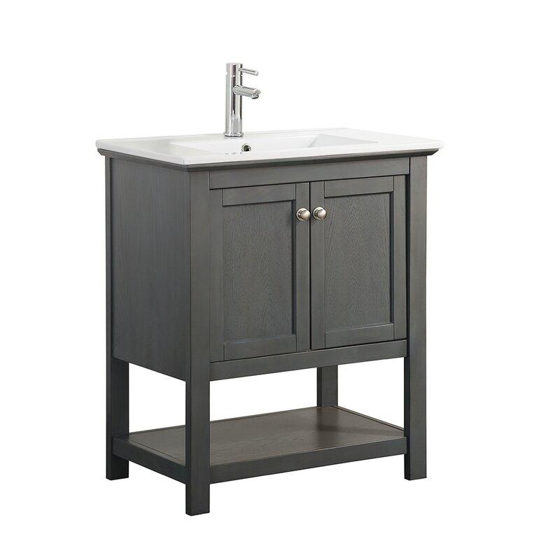 bathroom vanity single sink. Elisa 30  Single Bathroom Vanity Set Vanities Joss Main