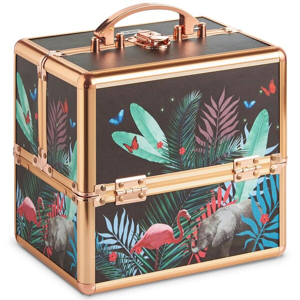 Jungle Professional Makeup Cosmetic Organizer by VonShef