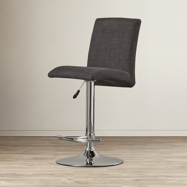 Lular Adjustable Height Swivel Bar Stool by Wade L