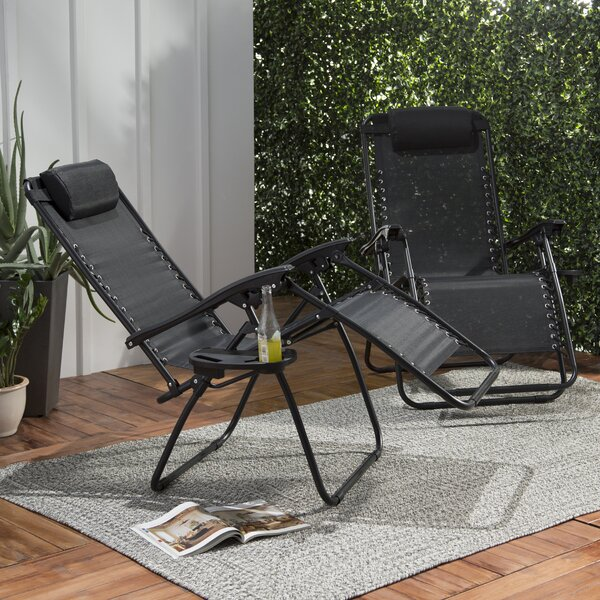 Maci Reclining Zero Gravity Chair (Set Of 2) By Freeport Park