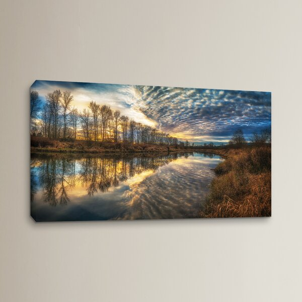 Angel Wings Photographic Print on Wrapped Canvas by Red Barrel Studio