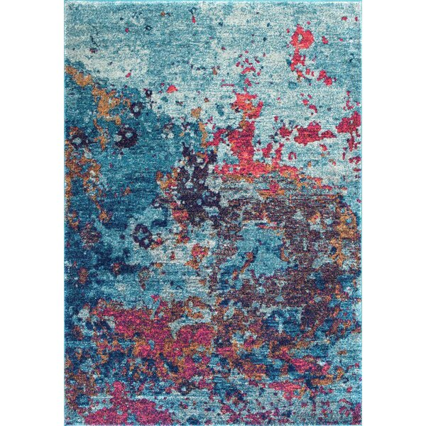 Beach Blue Area Rug by Wrought Studio