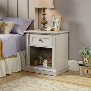 Tandy 1 Drawer Night Stand by Laurel Foundry Modern Farmhouse
