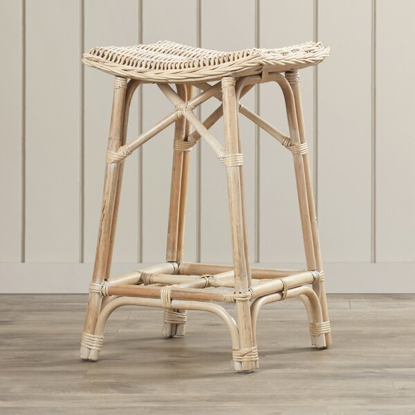 Bungalo Solid Wood Accent Stool By Bay Isle Home