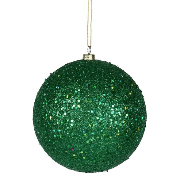 Sequin Ball Ornament (Set of 4) by The Holiday Aisle