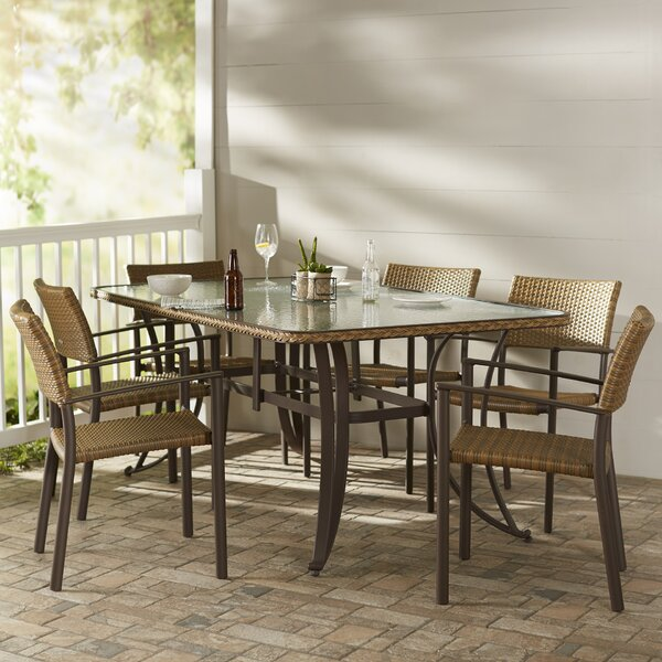 Izetta 7 Piece Dining Set by Darby Home Co