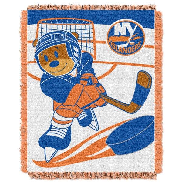 NHL Islanders Baby Woven Throw Blanket by Northwest Co.