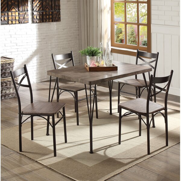 Middleport 5 Piece Dining Set by Andover Mills