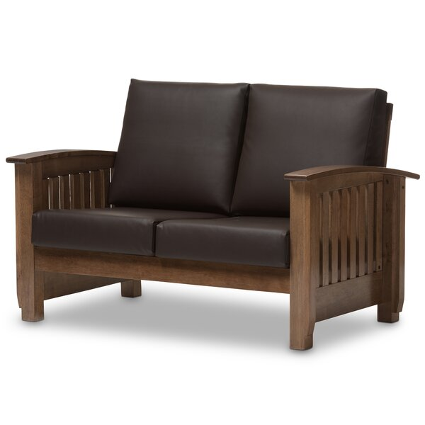 Baxton Studio Benigno 2 Seater Loveseat by Wholesale Interiors