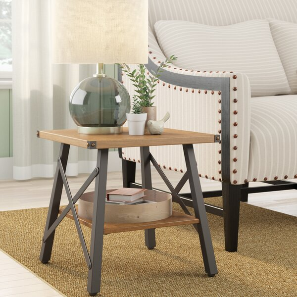 Wisteria End Table by Laurel Foundry Modern Farmhouse