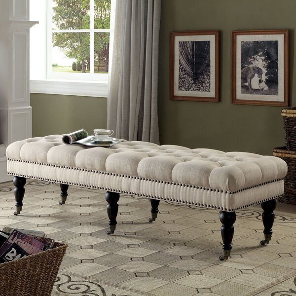 Sharie Upholstered Bench by Darby Home Co