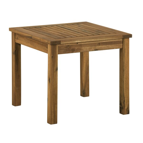 Luyster Solid Wood Side Table by Union Rustic